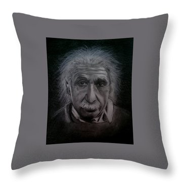 E Mc2 Throw Pillow