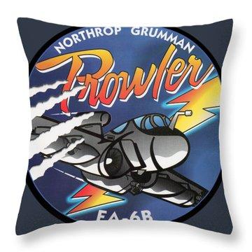 Ea-6b Prowler Throw Pillow