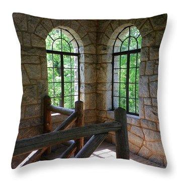 Eagel Rock View Throw Pillow