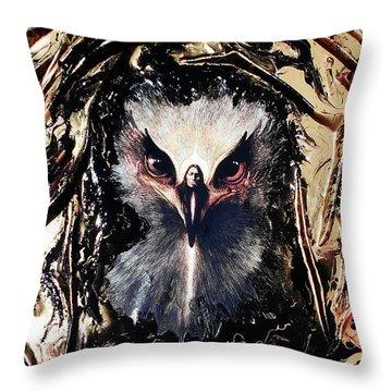 Eagle Healer Throw Pillow
