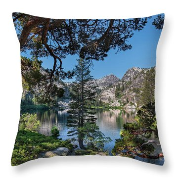 Eagle Lake - 2 Throw Pillow