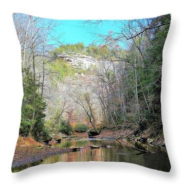 Eagle Point Buttress Throw Pillow