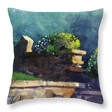 Eagle Point Planter Throw Pillow