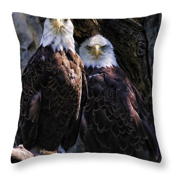 Eagles Throw Pillow