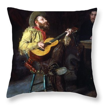 Eakins: Home Ranch, 1892 Throw Pillow by Granger