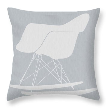 Eames Rocking Chair Throw Pillow