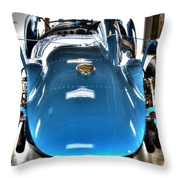 1937 Delahaye Type 145 Throw Pillow