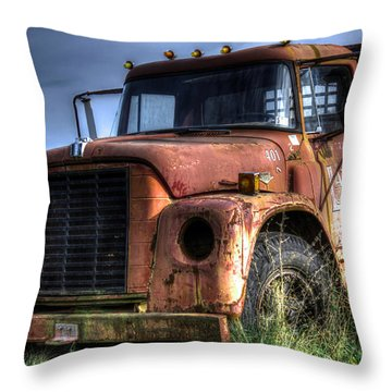 Earl Latsha Lumber Company Version 3 Throw Pillow