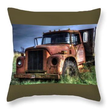 Earl Latsha Lumber Company Version 3 Throw Pillow