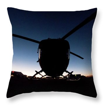 Throw Pillow featuring the photograph Early Bird by Paul Job