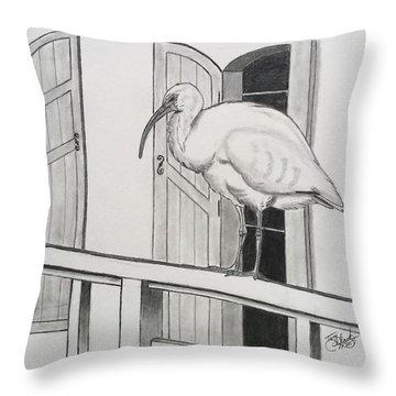 Early Bird Throw Pillow