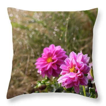 Early Breath Throw Pillow