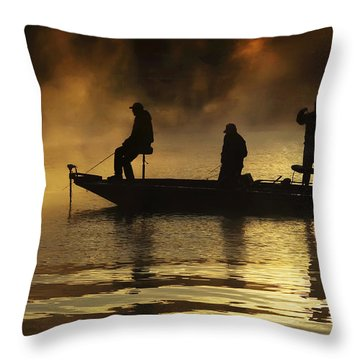 Early Casting Call Throw Pillow