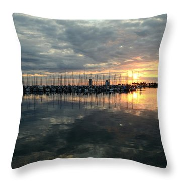 Early Day Throw Pillow