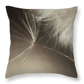 Throw Pillow featuring the photograph Early Departure by Amy Tyler