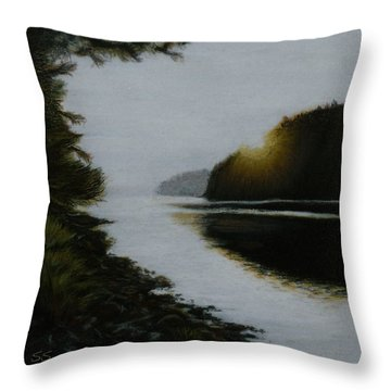 Early Early Throw Pillow