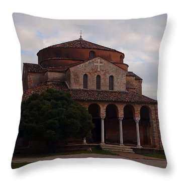 Throw Pillow featuring the photograph Early Faith by Laura Ragland