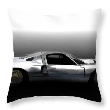 Early Gt40 Throw Pillow