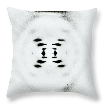 Early Image Of Dna Throw Pillow