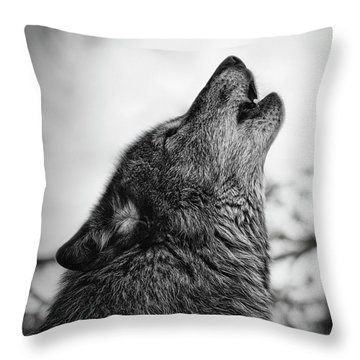 Early Morning Call Throw Pillow