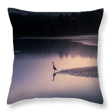 Early Morning Greeter Throw Pillow