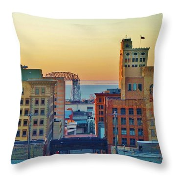 Lake Superior Throw Pillows