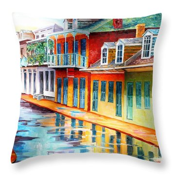 Creole Cottage Throw Pillows