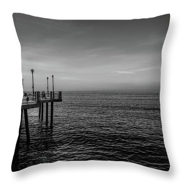 Early Morning Redondo By Mike-hope Throw Pillow