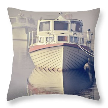 Early Morning Softness Throw Pillow
