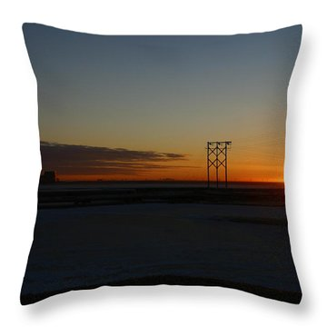 Early Morning Sunrise Throw Pillow by Anthony Jones