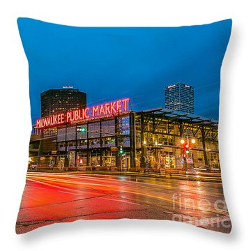 Early Morning Zoom Throw Pillow