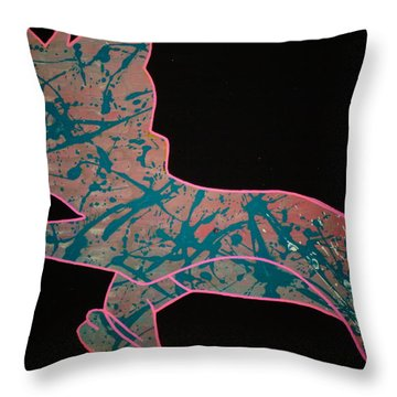 Early Mourning Throw Pillow