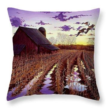Early Return Throw Pillow