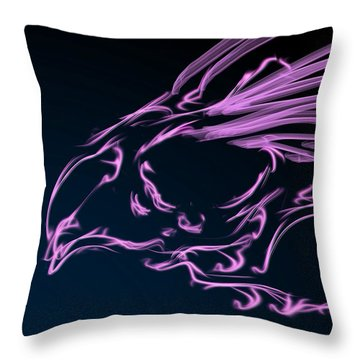 Early Riser Throw Pillow