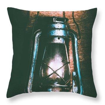 Early Settler Still Life Throw Pillow