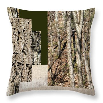 Early Spring Walk -  Throw Pillow
