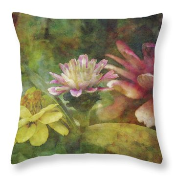 Early Summer Flowers 1304 Idp_2 Throw Pillow