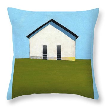 Earlysville Baptist Church Throw Pillow