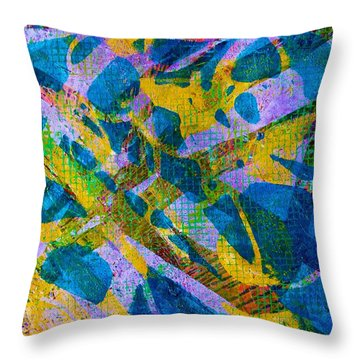 Earnest Twilight Throw Pillow