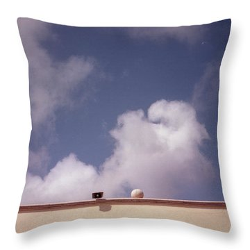 Earth Calling Sky  Throw Pillow