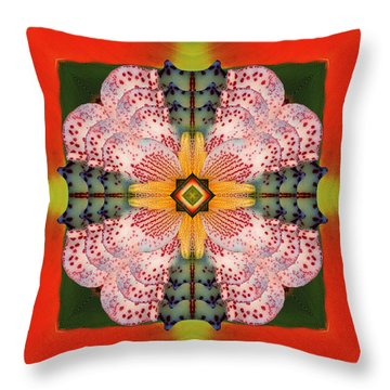 Throw Pillow featuring the photograph Earth Ecstasy by Bell And Todd