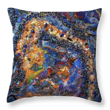 Earth Gems #18w01 Throw Pillow
