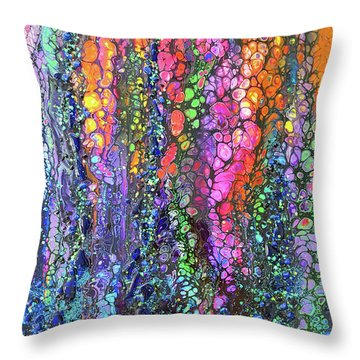 Earth Gems #18w02 Throw Pillow