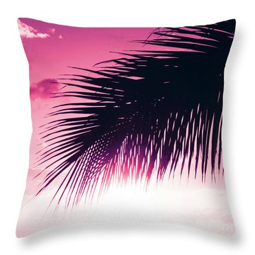 Throw Pillow featuring the photograph Earth Heart Kahakai by Sharon Mau