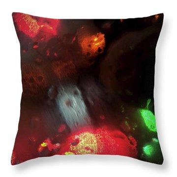Earth Intruders Throw Pillow