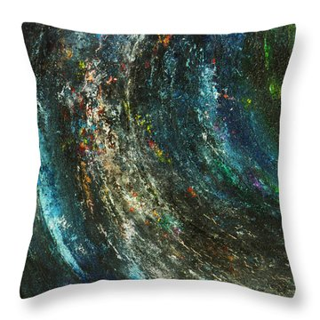 Earth Throw Pillow