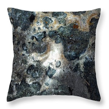 Throw Pillow featuring the photograph Earth Memories - Stone # 8 by Ed Hall