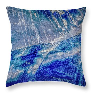 Throw Pillow featuring the photograph Earth Portrait 001-102 by David Waldrop
