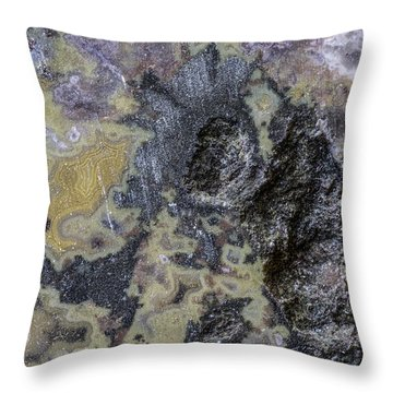 Earth Portrait 001-168 Throw Pillow