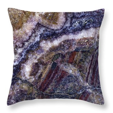 Earth Portrait 001-176 Throw Pillow